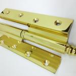 Lucidatura metalli eseguita su ferramenta per serramenti, Europlating Carate Brianza
